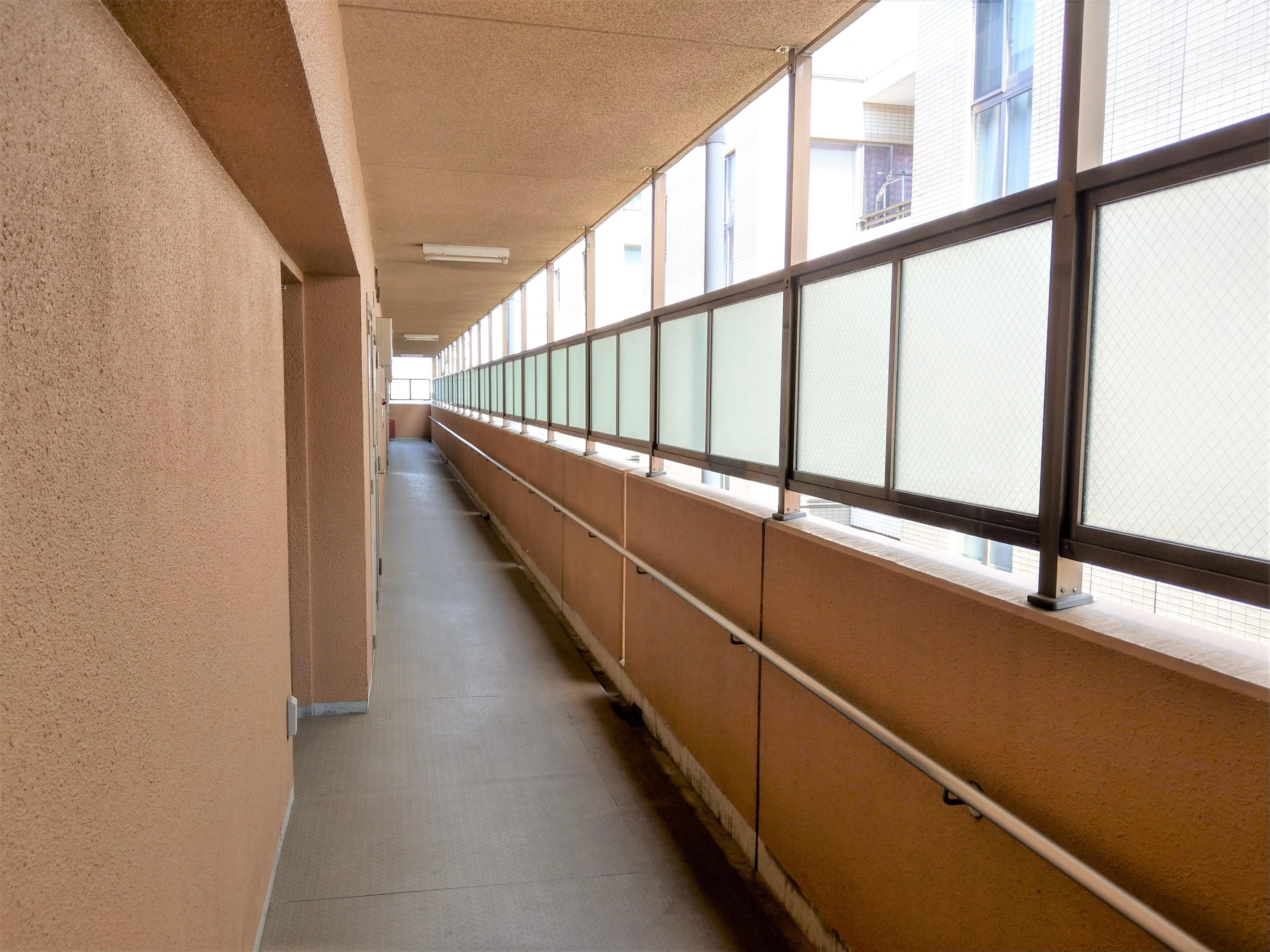 マンション共用部分 廊下