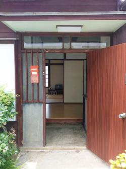 古民家1 玄関