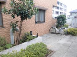 マンション共用部分 自転車置き場