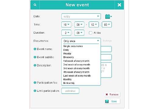 simpl e schedule overview wix app market wix com