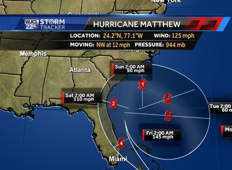Riding Out Hurricane Matthew