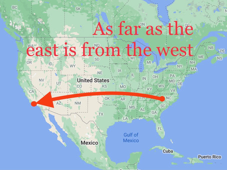 As Far as the East is from the West