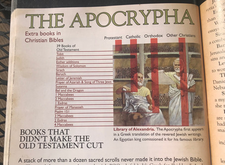 What is the Apocrypha?