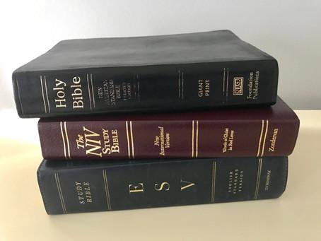 Bible Versions War - Cease Fire!
