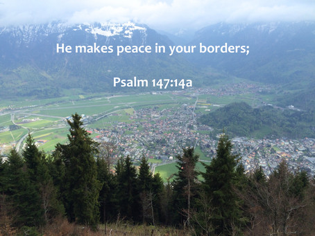 Peace Within Our Borders