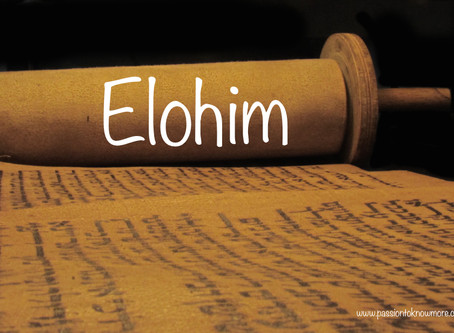 Three in One - Elohim