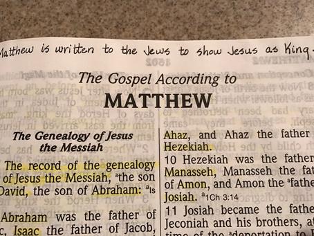 Matthew was Written to the Jews