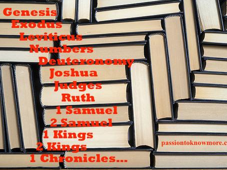 Memorize the Books of the OT
