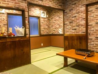 飲食店客席内装工事