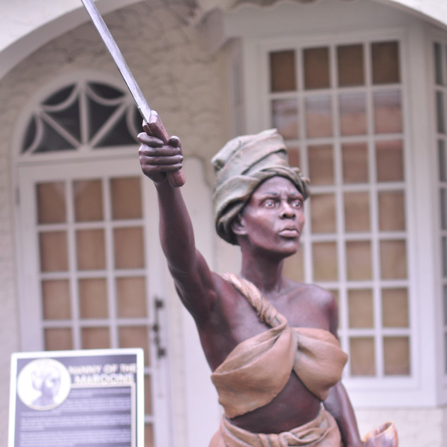 Nanny of the Maroons Sculpture