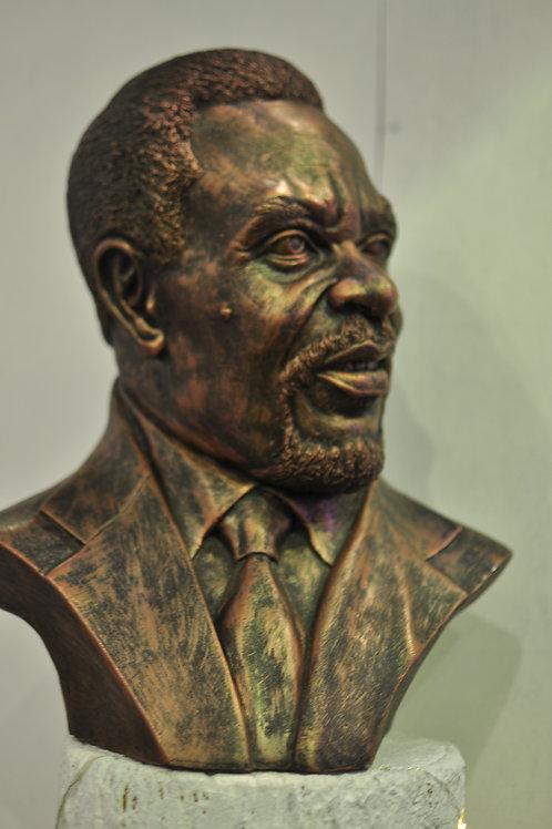 P.J Patterson Bust