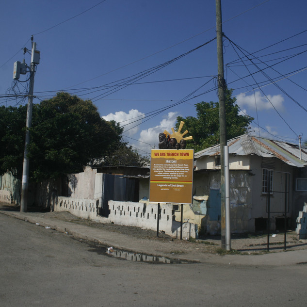 Trench Town Story Board