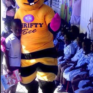 Thrifty Bee Mascot
