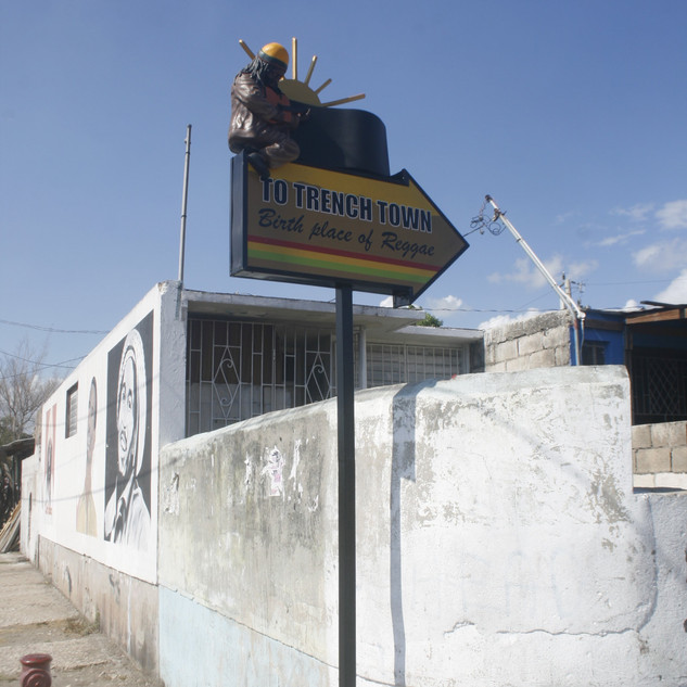 Trench Town Directional Signs