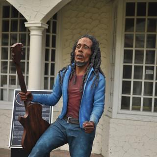 Bob Marley Sculpture