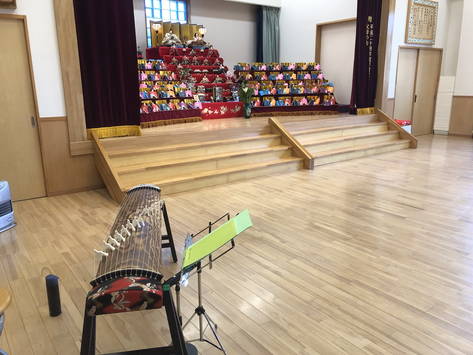 小名浜の白百合幼稚園さんにて演奏をしてきました