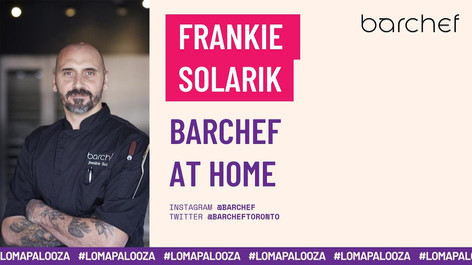 BarChef at Home | Frankie Solarik