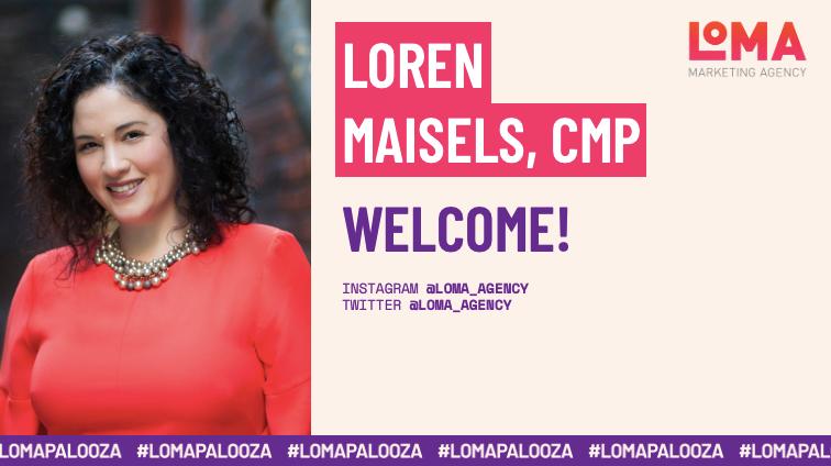 Welcome!   Loren Maisels, CMP