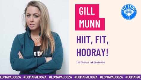 HIIT, FIT, HOORAY! | Gill Munn
