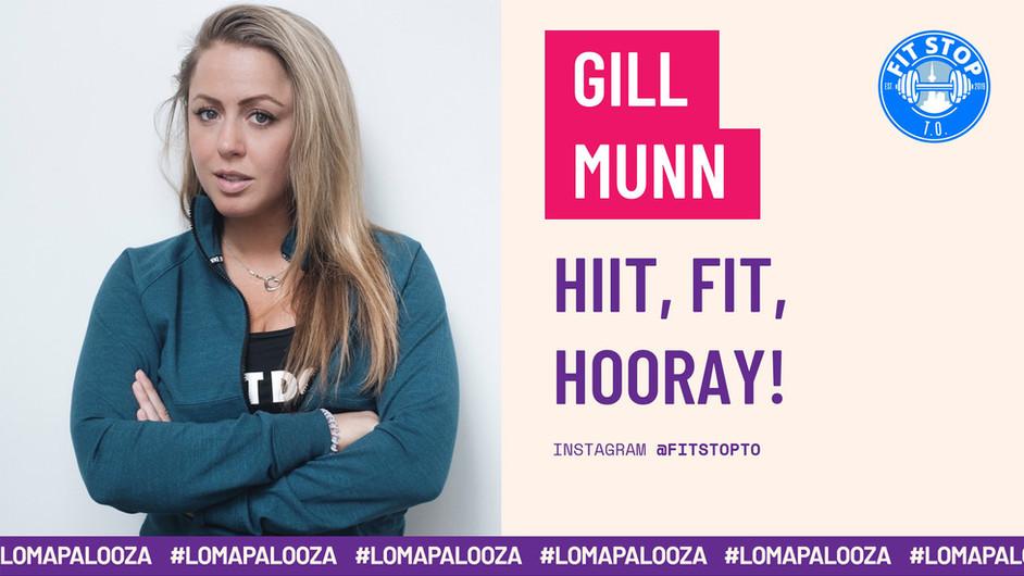 HIIT, FIT, HOORAY!   Gill Munn