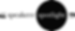 Speakers' Spotlight Black Logo - Invisib