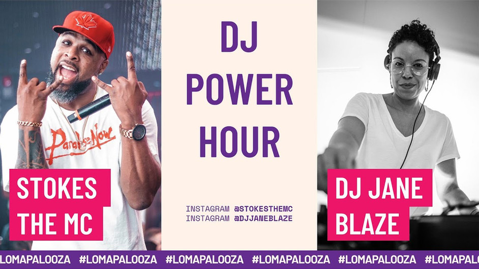 DJ Power Hour | DJ Jane Blaze