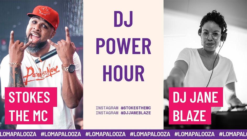 DJ Power Hour   DJ Jane Blaze