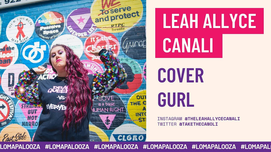 Cover Gurl   Leah Allyce Canali
