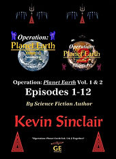 """Official Kevin Sinclair Store - """"Operation: Planet Earth Vol. 1 & 2 together."""