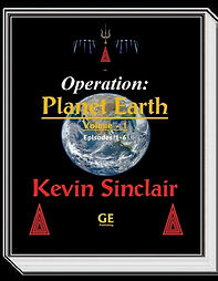"""Official Kevin Sinclair Store.  """"Operation: Planet Earth Vol. 1"""""""