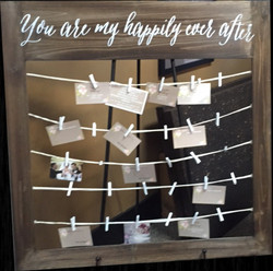 Place card or Memory board
