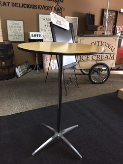 High Top Cocktail Tables