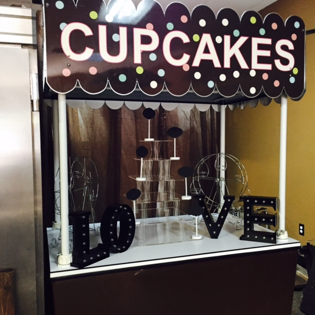 Cup Cake Cart