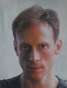 Ed Watson portrait painting fiona graham-mackay