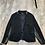 Thumbnail: Black H&M Leather Trim Blazer
