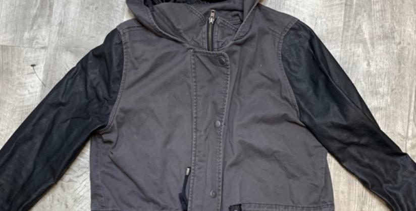 Gray Pullover Jacket