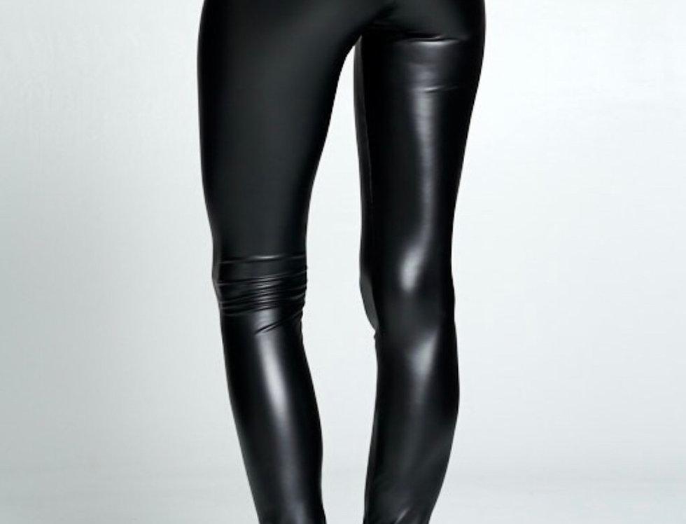 The Ultimate Black Leather Leggings