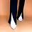 Thumbnail: slit down, honey high waisted pants
