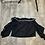 Thumbnail: Black Ruffled Sleeve Top