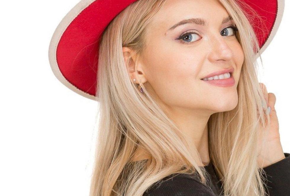 Brimmed Fedora Hat