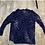 Thumbnail: Navy Button Down Blouse