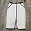 Thumbnail: White Lined Pencil Skirt
