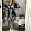 Thumbnail: velvet paisley wrap dress