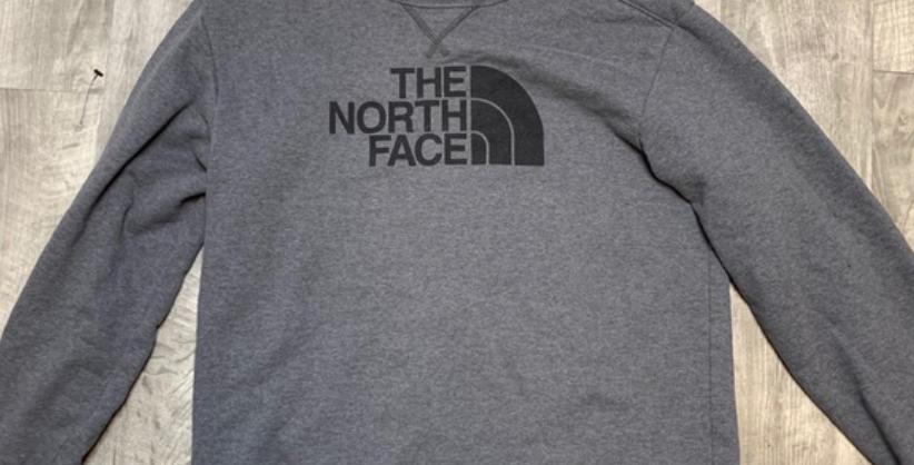 Gray NorthFace Sweatshirt