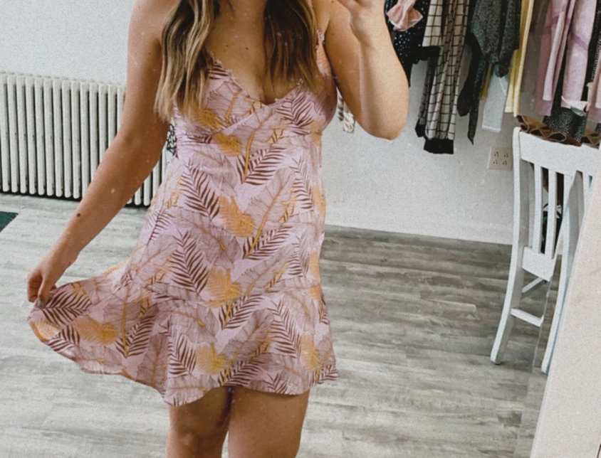 somewhere in the tropics dress