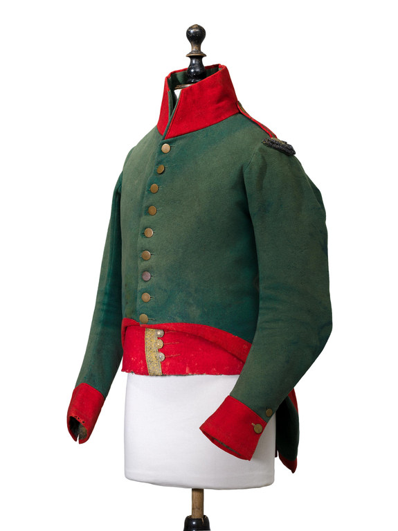 Reiterrock eines Kavalleristen um 1820