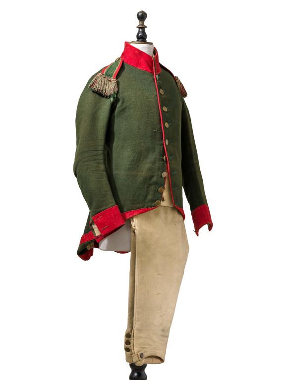Reiterrock eines Kavalleristen um 1805