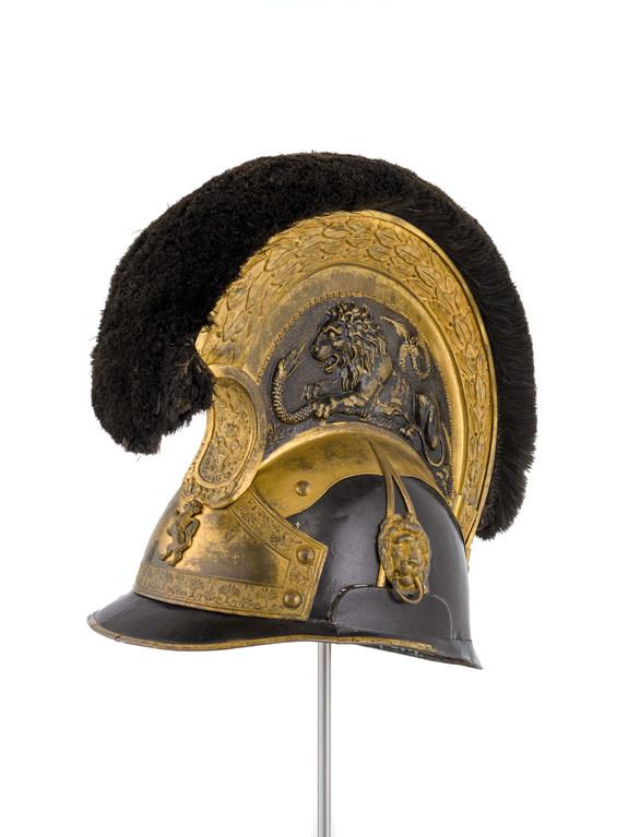 Bürgerkorps Reiterkammhelm um 1835