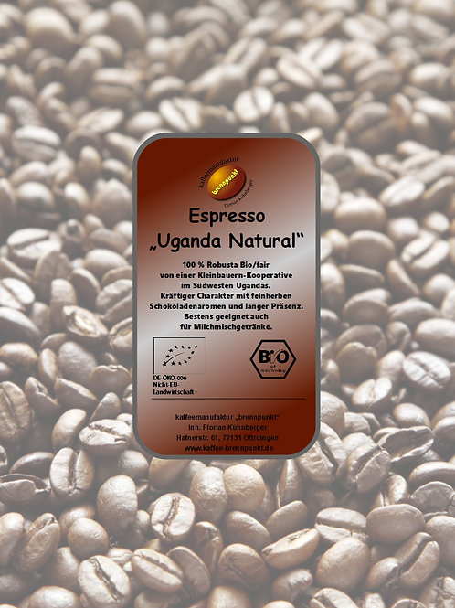 "Uganda Espresso ""Natural"" bio/fair"