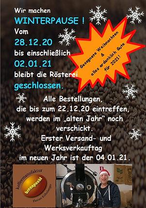 Winterurlaub 2020 A5 Webshop Versandhinw
